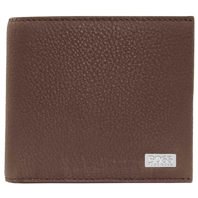 Boss 50441044-235 Men's Wallet Crosstown Pastel Brown 4046303267289