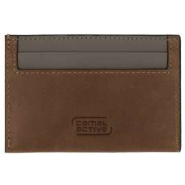 camel active 32070122 Credit / Business Card Wallet Cognac Brown Valencia