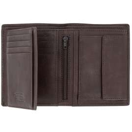 camel active 31570328 Wallet Dark Brown Leather Mali