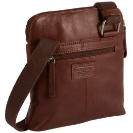 camel active 290-601-22 Men's Crossbag Laredo S Cognac Brown