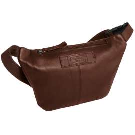 camel active 290-301-22 Belt Bag Laredo Cognac Brown Leather