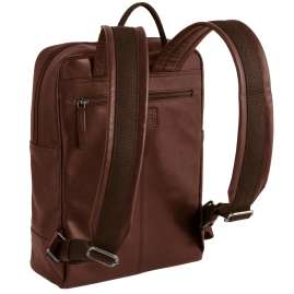 camel active 290-201-22 Backpack Laredo Cognac Brown Leather