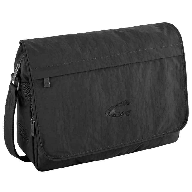 camel active B00-915-60 Messenger-Tasche mit Laptopfach Journey Schwarz 4251234409961