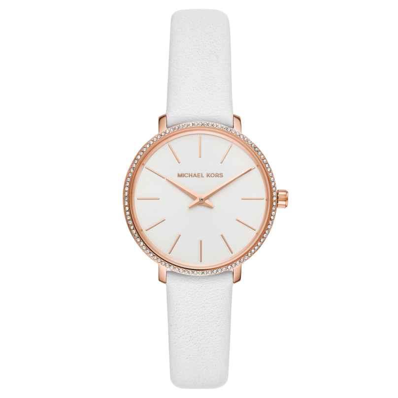Michael Kors MK2802 Ladies' Wrist Watch Pyper White 4013496283808