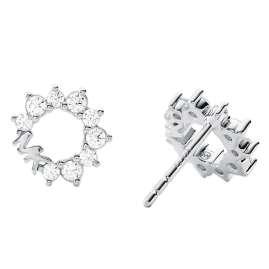 Michael Kors MKC1348AN040 Ladies' Stud Earrings Silver