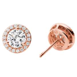 Michael Kors MKC1035AN791 Women's Stud Earrings Rose