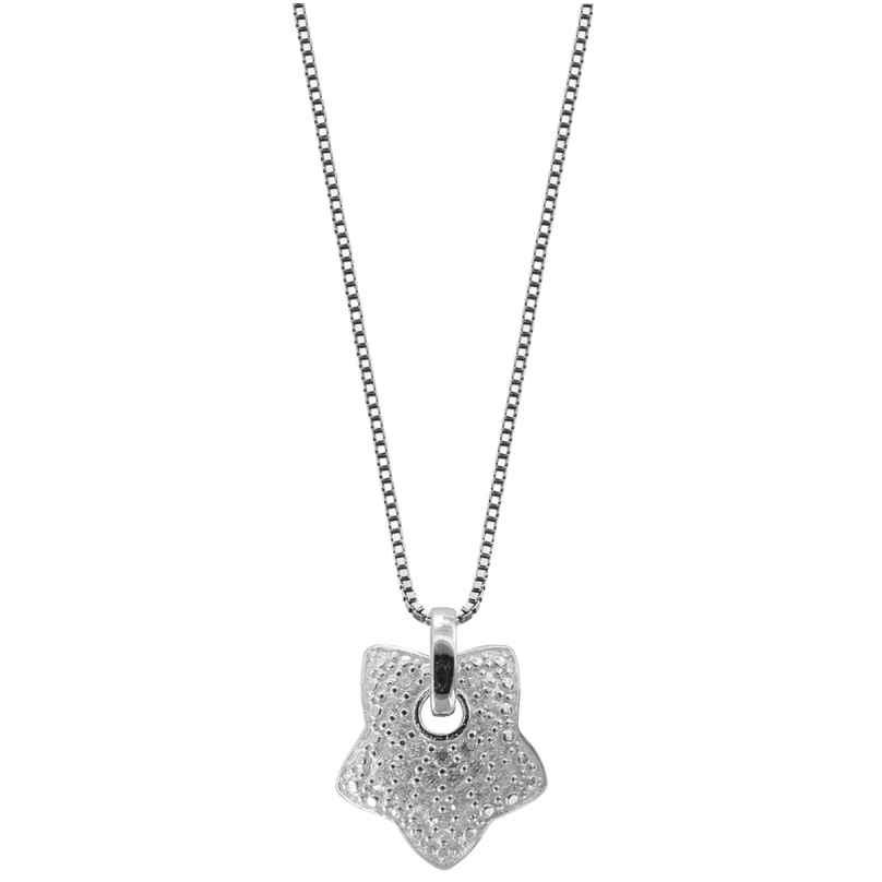 trendor 48764 Silber Halskette mit Stern-Anhänger 4260143748764