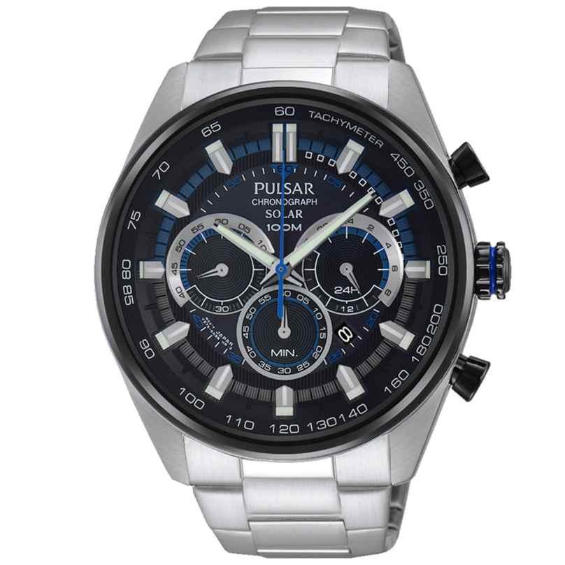 Pulsar PX5019X1 Solar Herren-Chronograph Rally 4894138028250