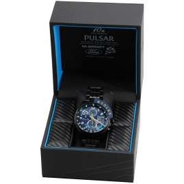 Pulsar PZ6037X2 Solar Herren-Chronograph M-Sport Ford World Rally Team