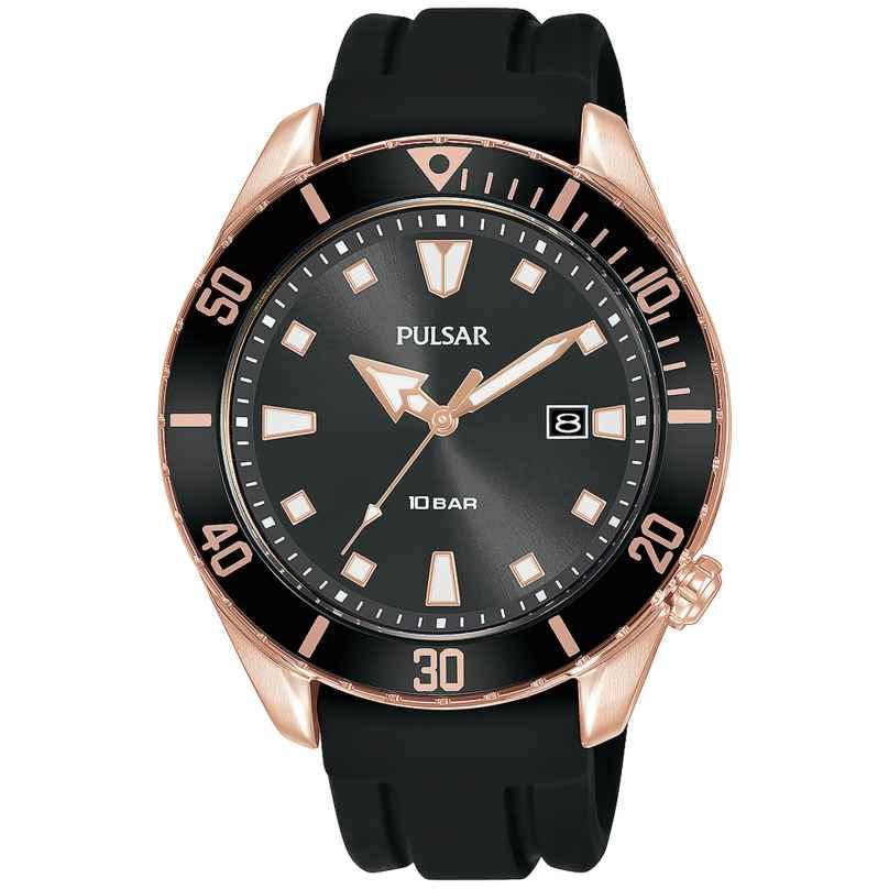 Pulsar PG8312X1 Herrenuhr Sport Roségoldfarben / Schwarz 4894138040511