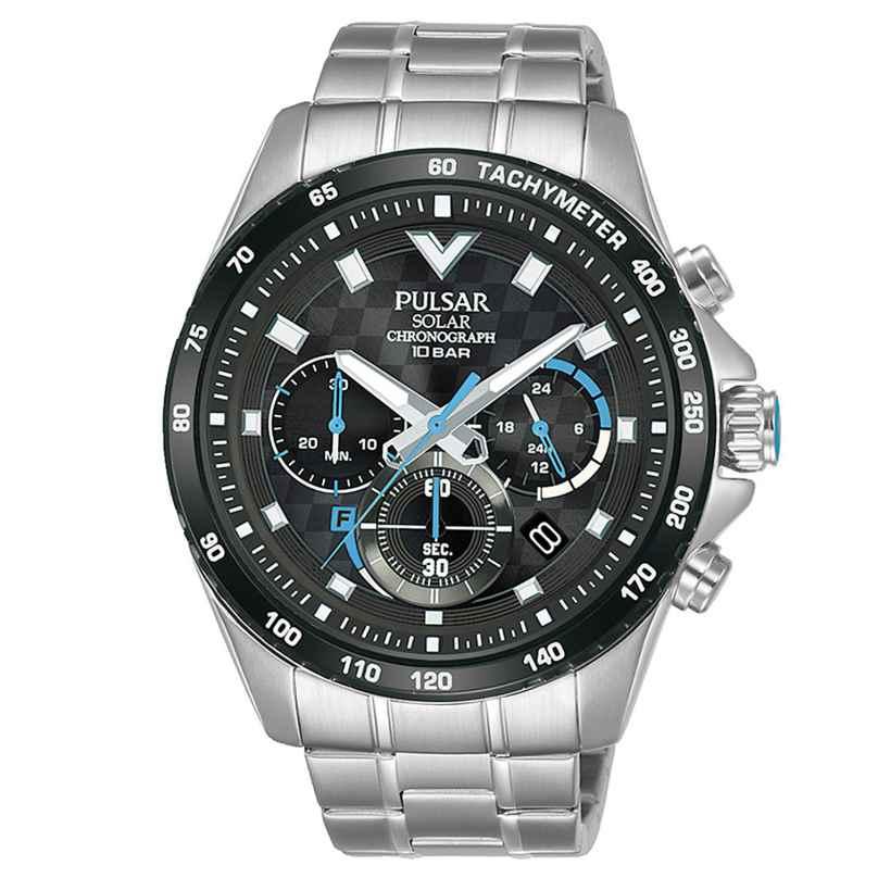 Pulsar PZ5105X1 Herren-Solaruhr Chronograph 4894138040870