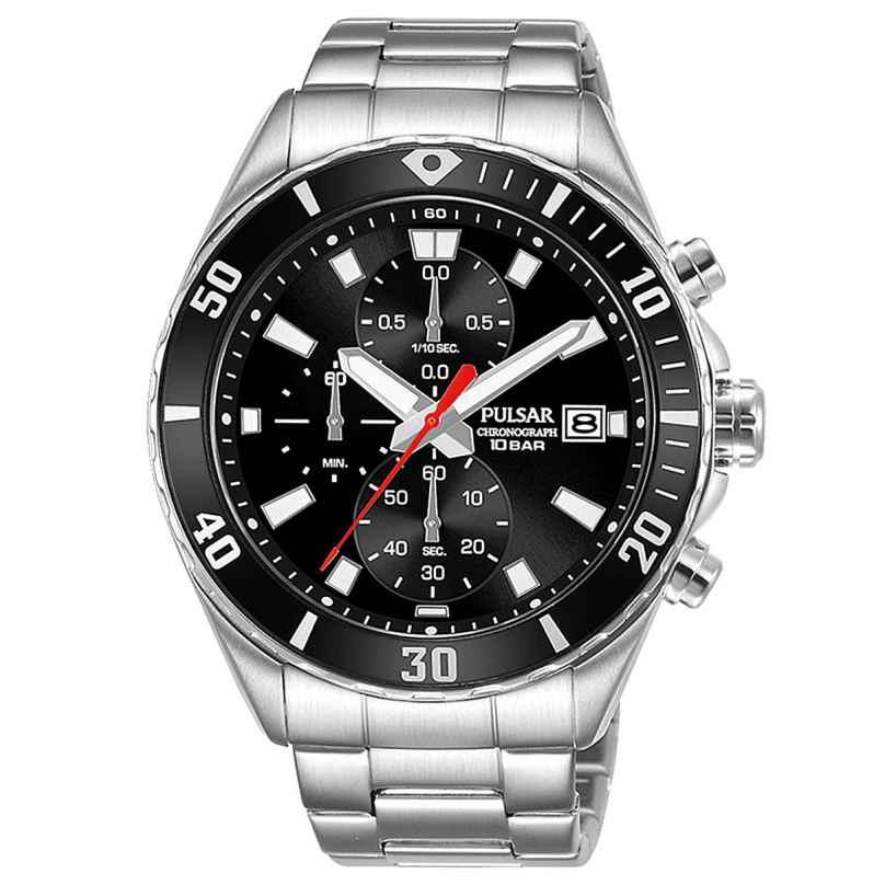 Pulsar PM3189X1 Herren-Armbanduhr Chronograph Schwarz 4894138041020