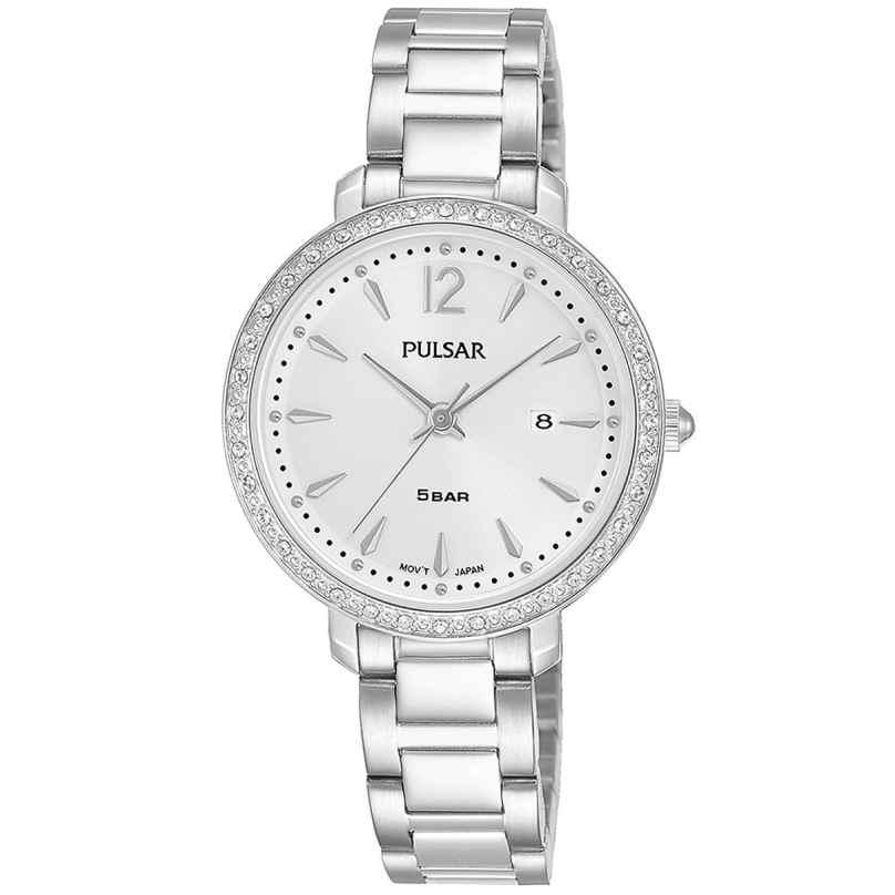 Pulsar PH7511X1 Damenuhr Quarz mit Kristallen 4894138040214
