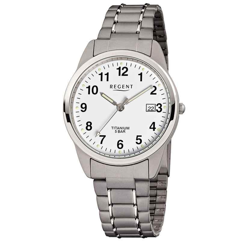 Regent F-432 Men's Watch Titanium Ø 36 mm 4045346059554