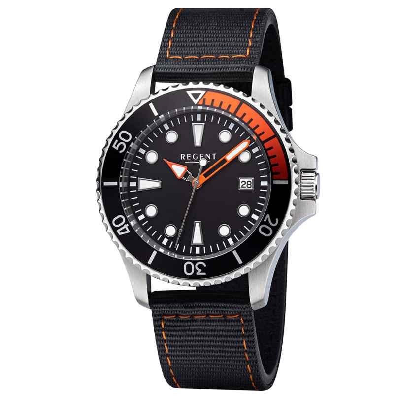 Regent BA-643 Diver's Watch 30 Bar Waterproof Ø 40 mm 4050597195425