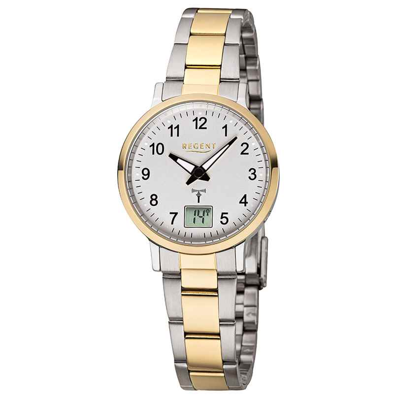 Regent FR-258 Radio-Controlled Ladies' Watch Ø 30 mm 4050597186263