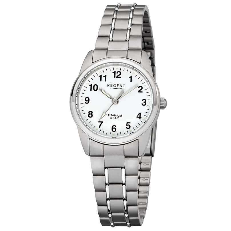Regent F-1085 Damen-Armbanduhr Titan Ø 26 mm 4050597100955