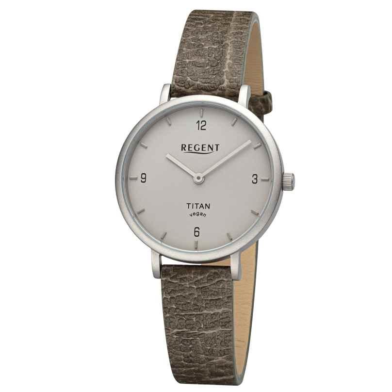 Regent BA-694 Titan-Uhr für Damen Grün/Grau 4050597602022