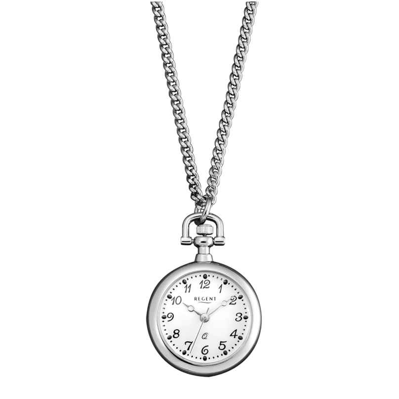 Regent P-259 Pendant Watch with Chain 4045346010012
