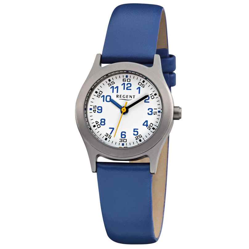 Regent F-947 Children's Watch Titanium Blue Ø 26 mm 4045346089162