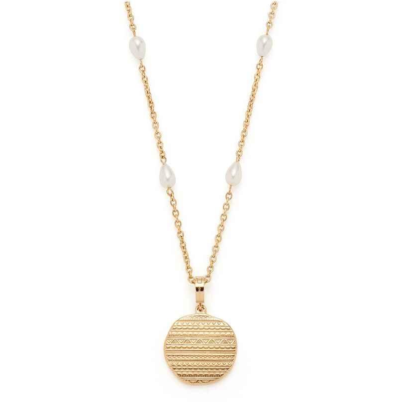 Leonardo 018306 Damen-Halskette Ava Edelstahl goldfarben 4002541183064