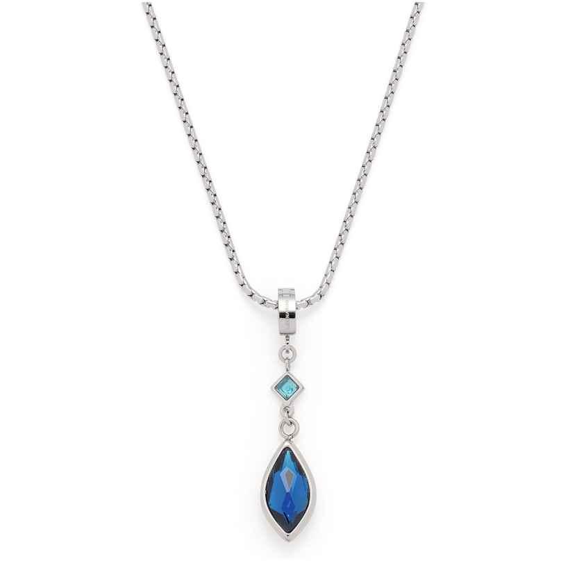 Leonardo 018383 Damen-Halskette Arabella Edelstahl Blau 4002541183835