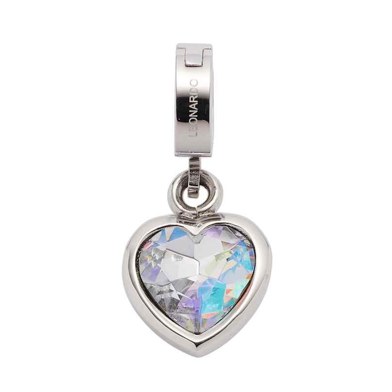 Leonardo 018758 Heart Pendant Anni Clip&Mix Stainless Steel 4002541187581