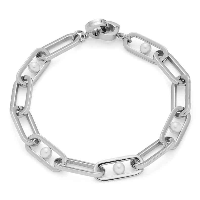 Leonardo 018410 Damen-Armband Marcellina Clip&Mix Edelstahl 4002541184108