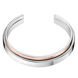CALVIN KLEIN KJ6APF2001 Women's Bangle Unite Stainless Steel Two-Colour Rose Gold