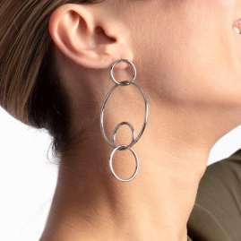 Calvin Klein KJ9PME0001 Damen-Ohrringe Clink