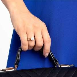 Calvin Klein KJ9RJR140 Women's Ring Bubbly