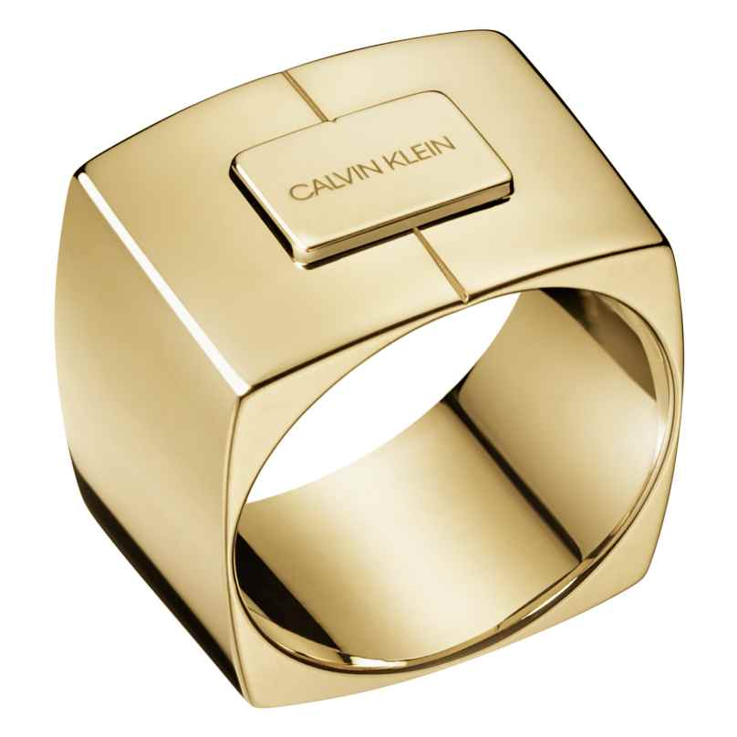 CALVIN KLEIN KJAHJR1001 Ring Assert Goldfarben