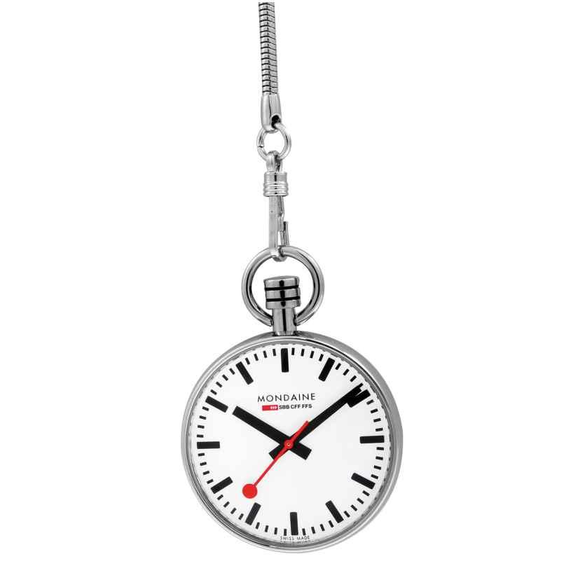 Mondaine Official Swiss Railways Watch - die Offizielle Schweizer Bahnhofsuhr 7611382511324