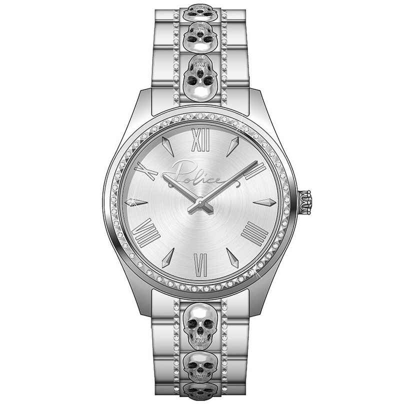 Police PEWLG2109501 Women's Watch with Small Skulls 4894816017101