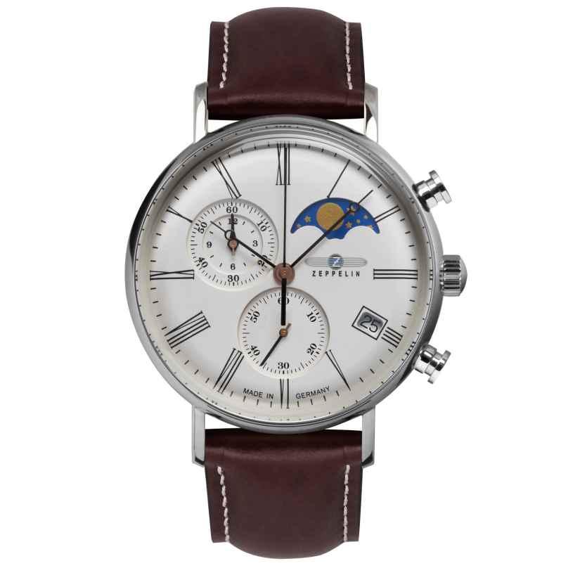 Zeppelin 7194-5 Herren-Armbanduhr Chronograph LZ120 Rome 4041338719451