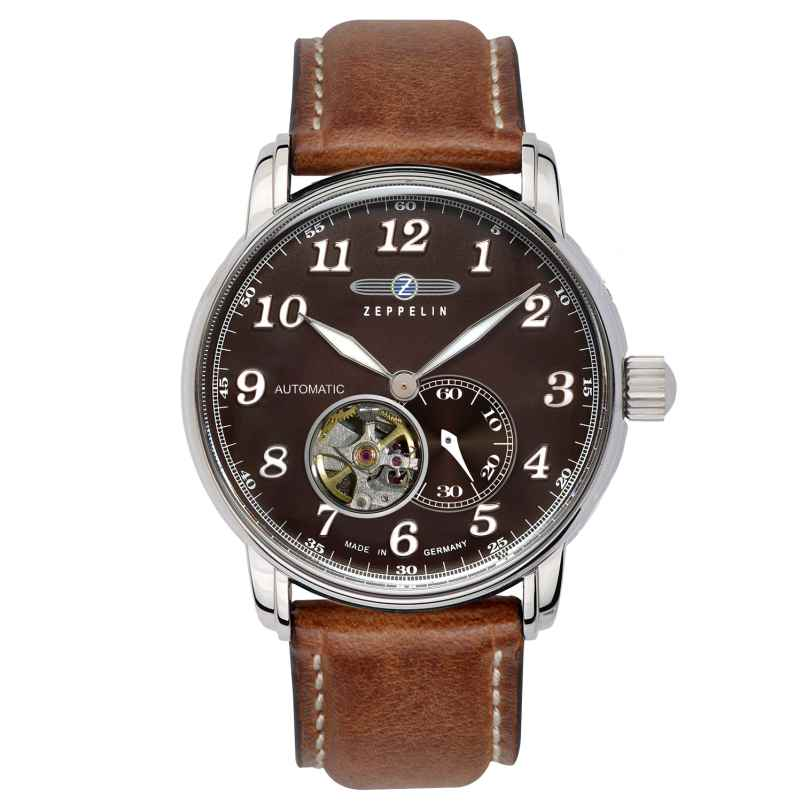 Zeppelin 7666-4 Mens Automatic Watch LZ127 Graf Zeppelin 4041338766646