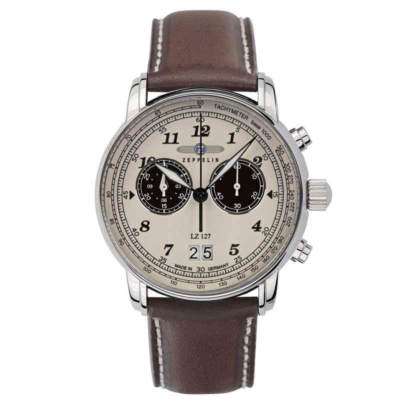 Zeppelin 8684-5 Herrenuhr Chronograph LZ127 4041338868456