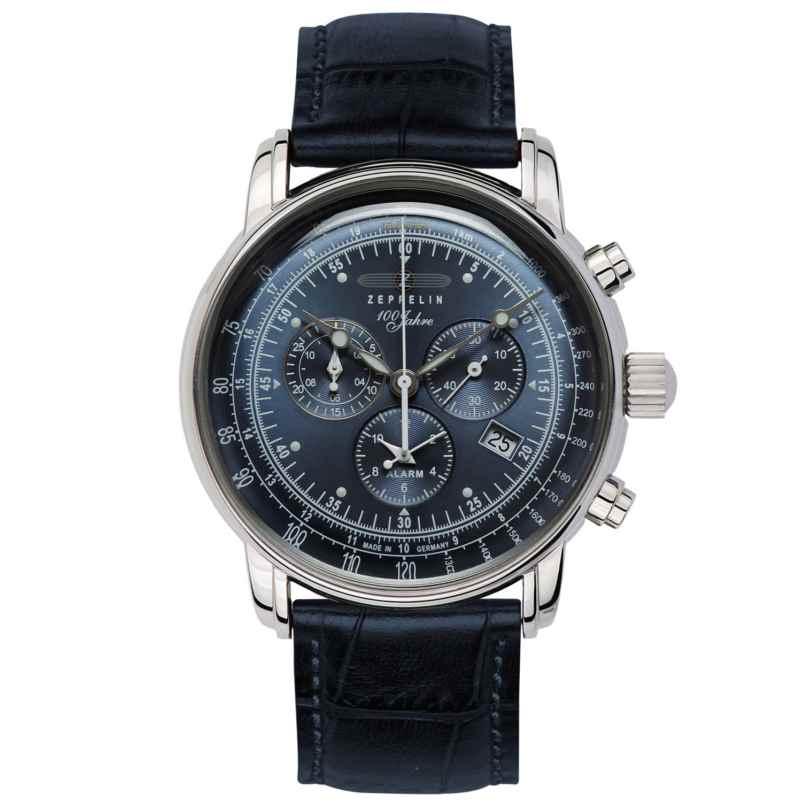 Zeppelin 7680-3 Men's Watch 100 Years Zeppelin Ed. 1 Dark Blue 4041338768039