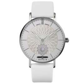 Zeppelin 8131-1 Women's Watch Mandala with 2 Leather Straps
