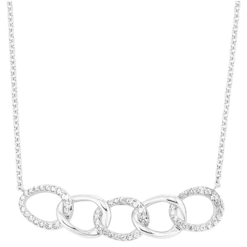 s.Oliver 2028496 Women's Necklace Silver with Cubic Zircona 4056867023788