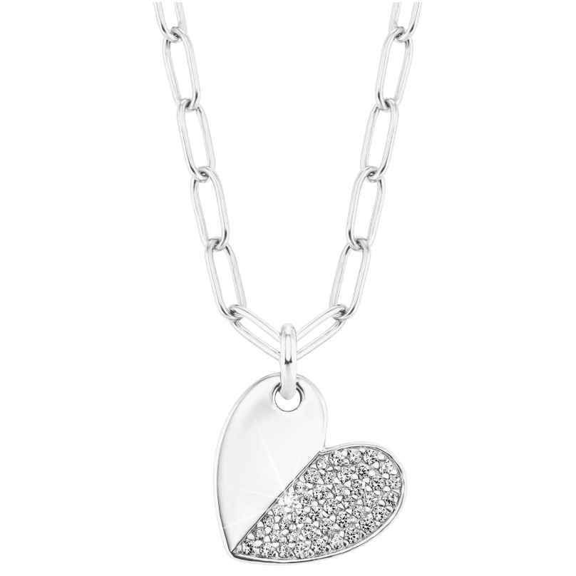 s.Oliver 2028515 Silver Necklace for Women with Cubic Zirconia 4056867023948