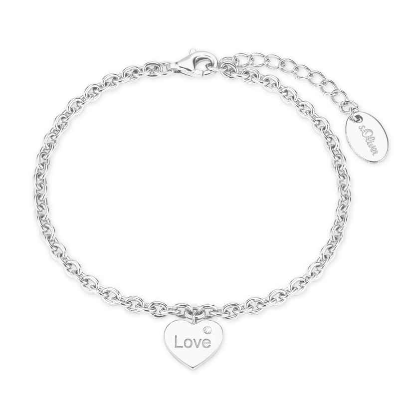 s.Oliver 2026083 Damen-Armband Silber 4056867017046