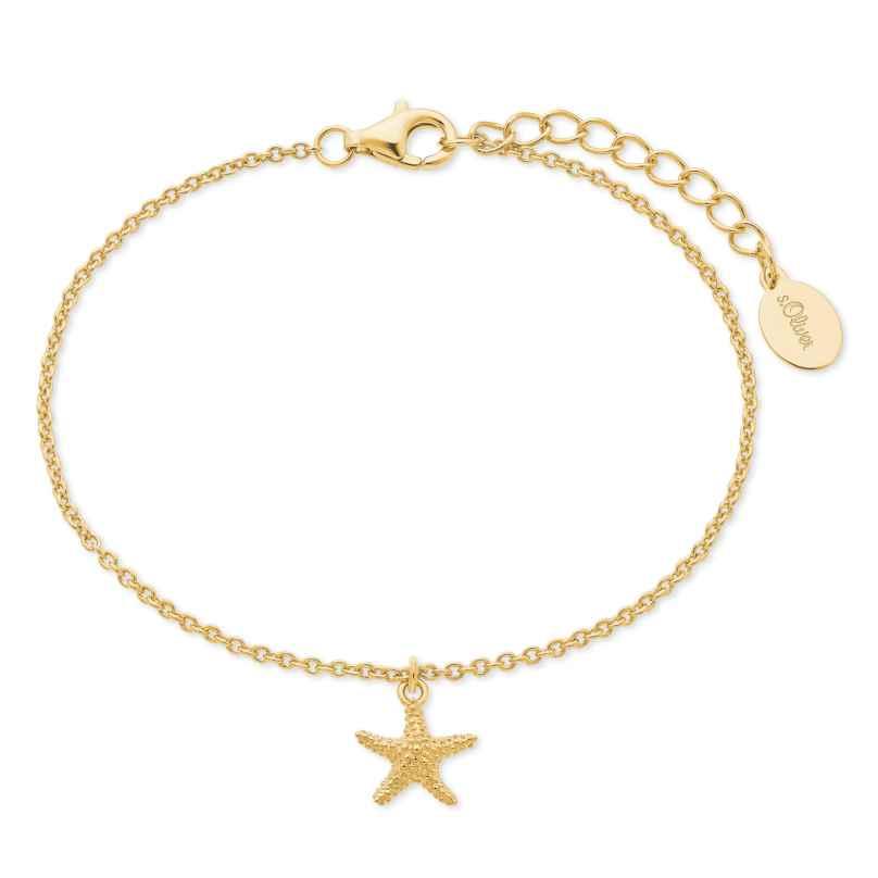 s.Oliver 2026126 Damen-Armband Seestern 4056867017435
