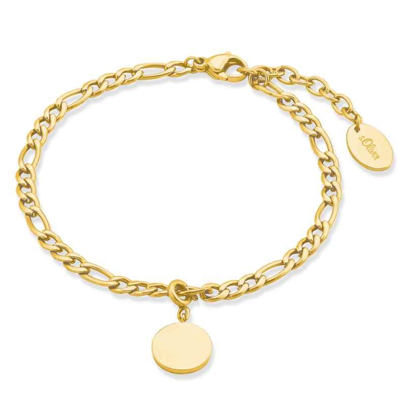 s.Oliver 2028469 Ladies' Bracelet Gold Plated Steel 4056867023627