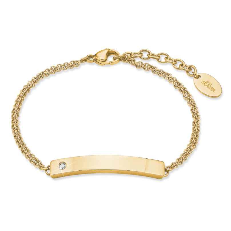 s.Oliver 2028471 Women's Bracelet Gold Plated Steel 4056867023641
