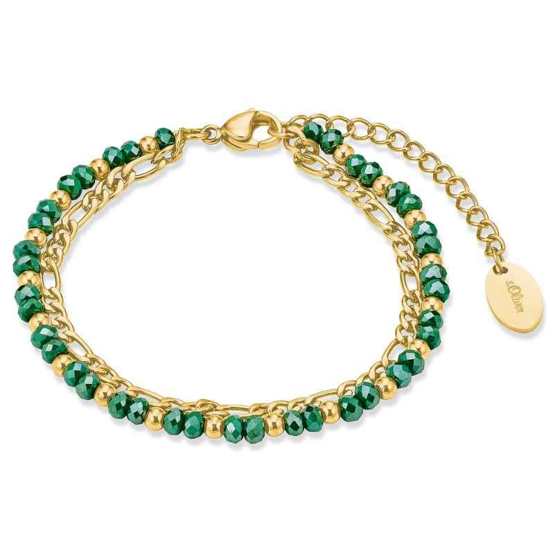 s.Oliver 2028483 Ladies' Bracelet Gold Plated Steel 4056867023764