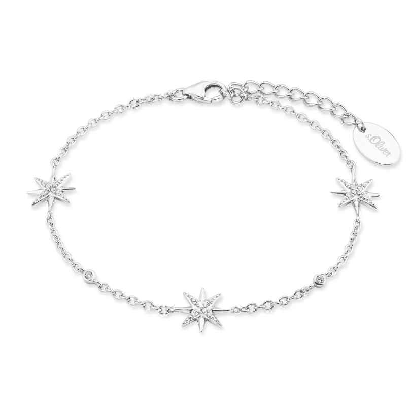 s.Oliver 2028520 Damen-Armband Silber Polarsterne 4056867023993