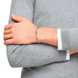 s.Oliver 2031525 Herren-Armband Edelstahl