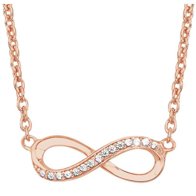 s.Oliver 2024289 Silber-Halskette für Damen Unendlichkeit 4056867015462