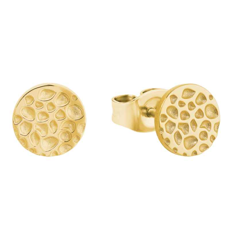 s.Oliver 2027550 Women's Stud Earrings Gold Plated Silver 925 4056867020534